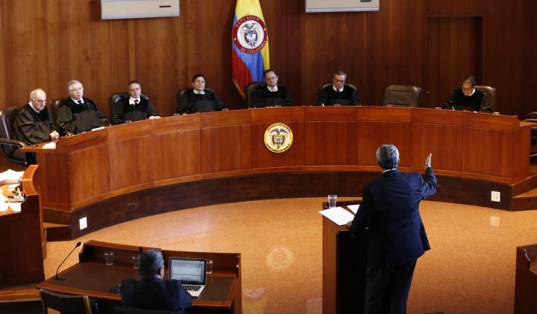 poder judicial en pleno