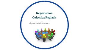 negociacion colectiva reglada