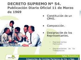 decreto supremo 54