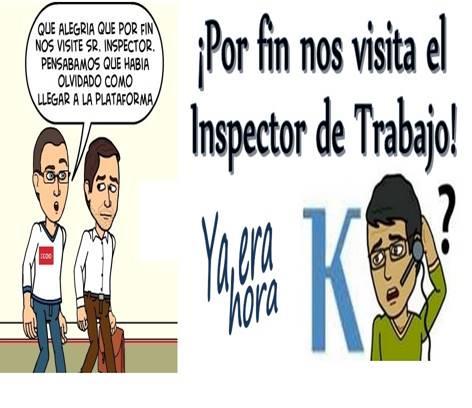 Funciones Inspector El Trabajo