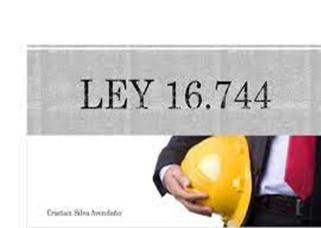 ley 16740
